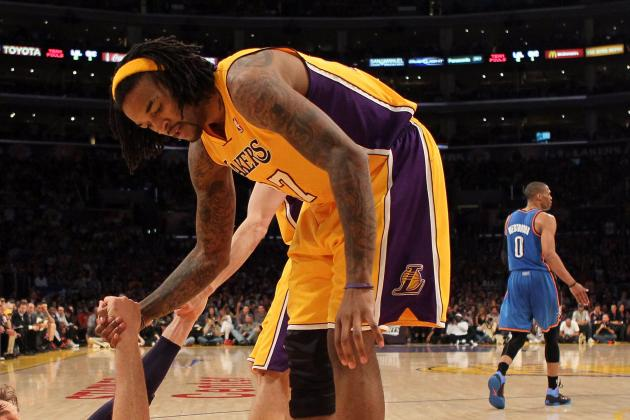 Lakers Announce F Jordan Hill Has Herniated Disc in Back
