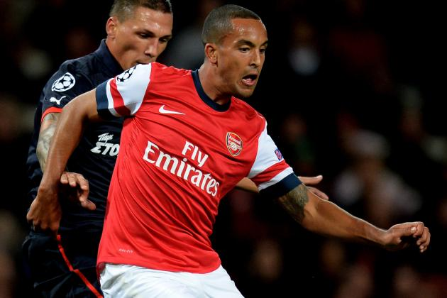 Arsenal Won't Break Bank on Theo Walcott Wages