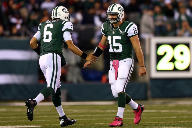 Mark Sanchez: Tim Tebow's Presence Continues to Hurt Jets QB