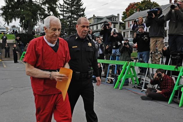 Jerry Sandusky Sentenced to 30 to 60 Years in Prison for Child Abuse