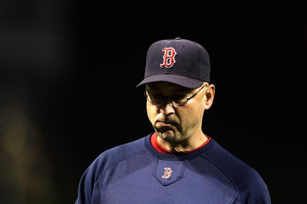 Francona Admits Boston 'Didn't Handle Frustration Very Well'