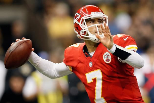 Matt Cassel: Chiefs QB Should Have to Earn Starting Spot Once Healthy