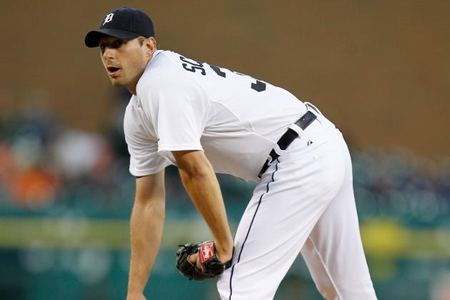 Max Scherzer Tosses Pain-Free, Says He's '100 Percent' for Potential Game 4