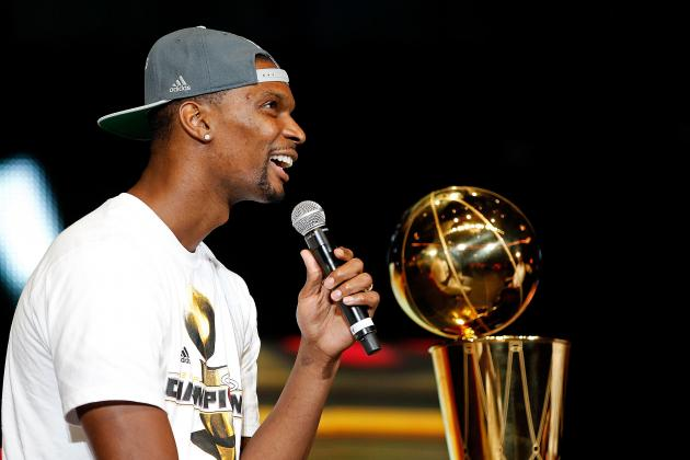Chris Bosh Accepting of Heat Center Role