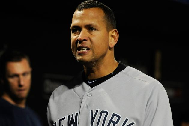 2012 ALDS: Alex Rodriguez Continues Postseason Disappearing Act for the Yankees
