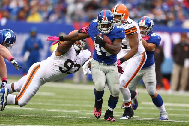 Ahmad Bradshaw: Giants RB a Sell-High Despite Career-Best Day vs. Browns