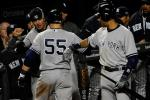 Maryland Troopers Ask Jeter and Swisher for Autographs During ALDS Game 1