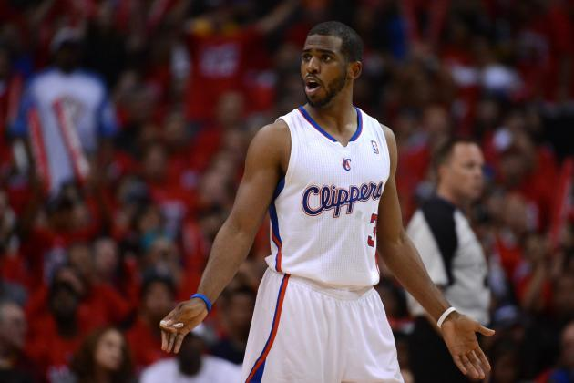 Chris Paul: Clippers Star Cleared for Contact in Practice