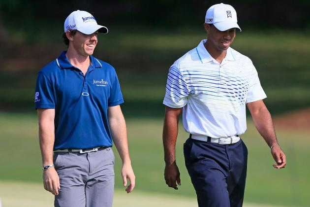 McIlroy and Woods Lose on First Day of World Golf Final