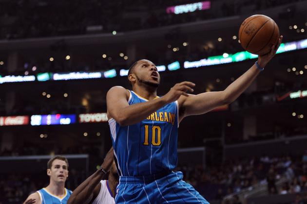 New Orleans Hornets Guard Eric Gordon Not Likely to Practice Again This Week