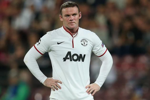 Man Utd Striker Wayne Rooney Not Worried by Goal Drought