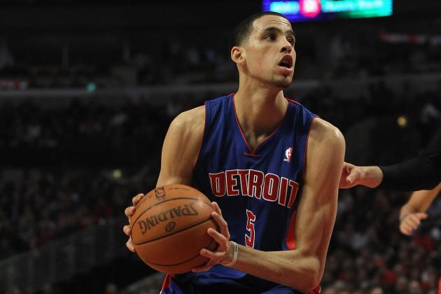 Pistons' Austin Daye Intent on Showing Real Game