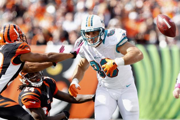 Miami Dolphins: Tannehill Needs More Production from His Tight Ends