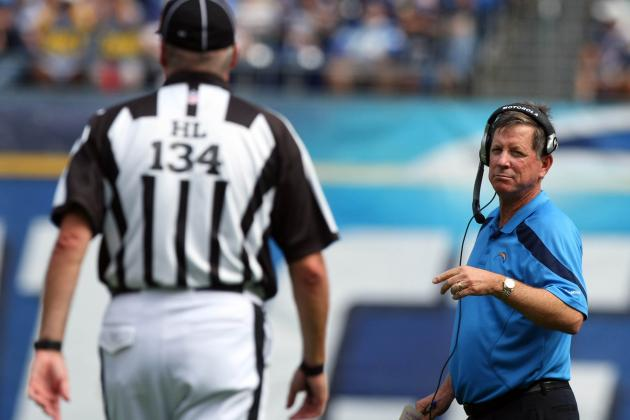 Norv Turner Has No Problem with Calls in Sunday Night Loss