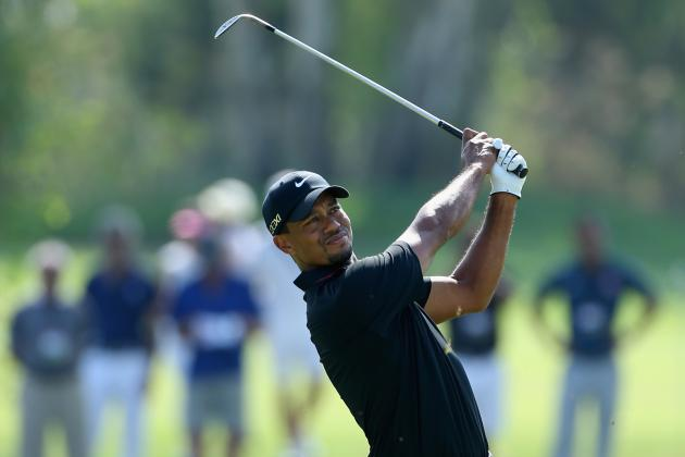 Tiger Woods at World Golf Final 2012: Day 1 Recap and Analysis