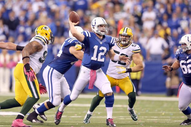 Andrew Luck: How QB Can Make Indianapolis Colts Unlikely Playoff Contenders