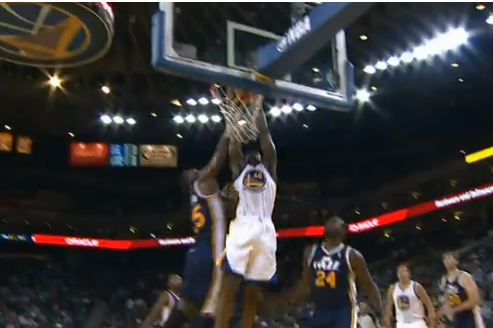 Video: Harrison Barnes Dunks on Al Jefferson