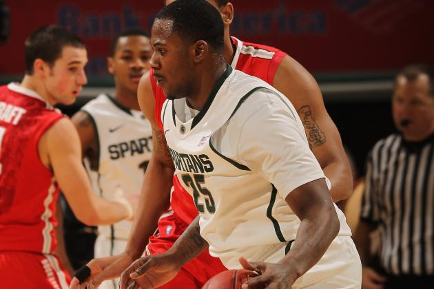 Michigan State Basketball Captains Are ... Derrick Nix and Russell Byrd