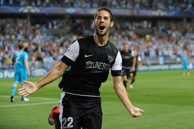 Malaga Starlet Isco Not Interested in Spurs or Man City Links