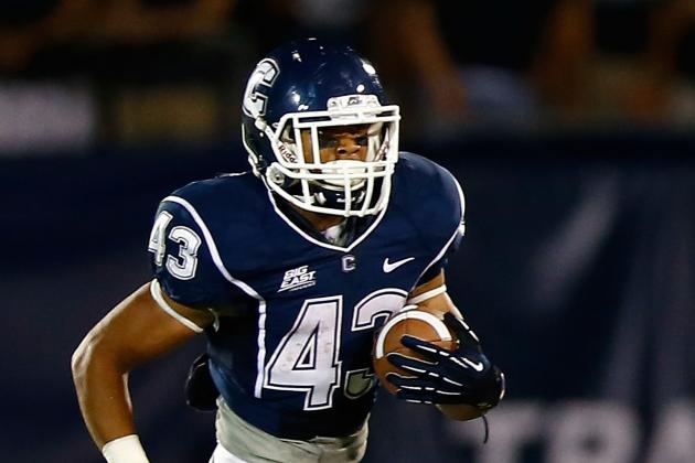 UConn RB McCombs Apologizes for Arrest