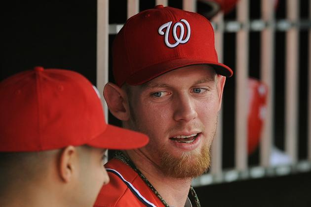 Strasburg More Accepting of Shutdown as Nats Prep for Game 3
