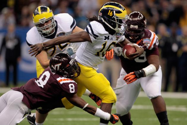Is Denard Robinson the Most Exciting Michigan Player Ever?