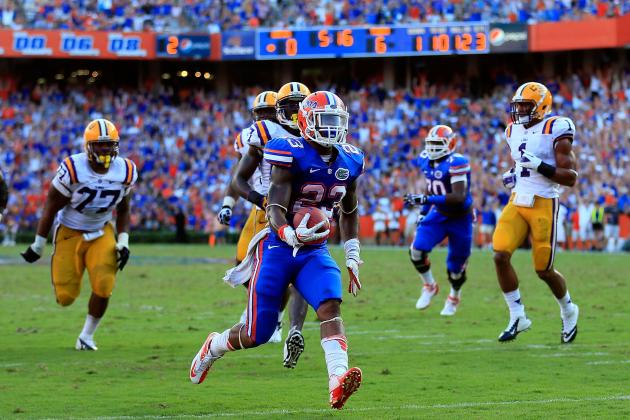Florida Football: How Florida Upset LSU
