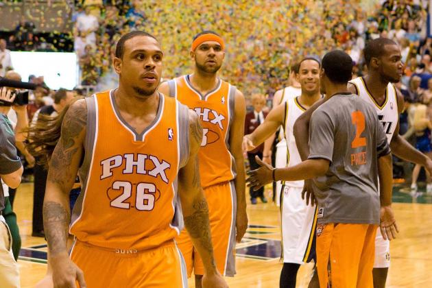 Suns' Dudley, Brown compete for starting job