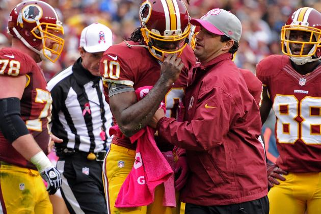 Robert Griffin III Injury: Redskins QB Learns Valuable Lesson vs. Falcons