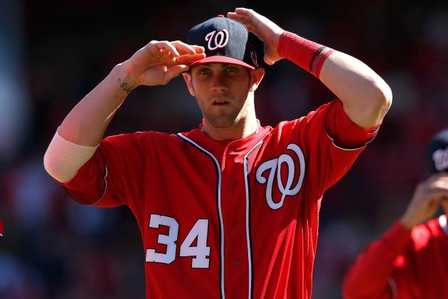 MLB Playoffs: Should the Nationals Drop Bryce Harper to 8th in the Order?
