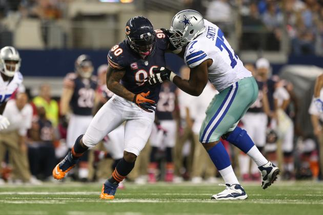 Chicago Bears:  Julius Peppers' Foot Injury Affecting His Play