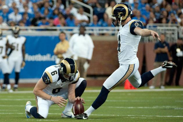 Greg Zuerlein Kicking His Way into the Record Books for the St. Louis Rams