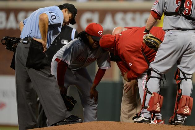 Cincinnati Reds Should Be Worried About Johnny Cueto's Injury