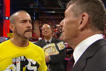 WWE: CM Punk, Vince McMahon Cannot Re-Create the McMahon/Austin Feud