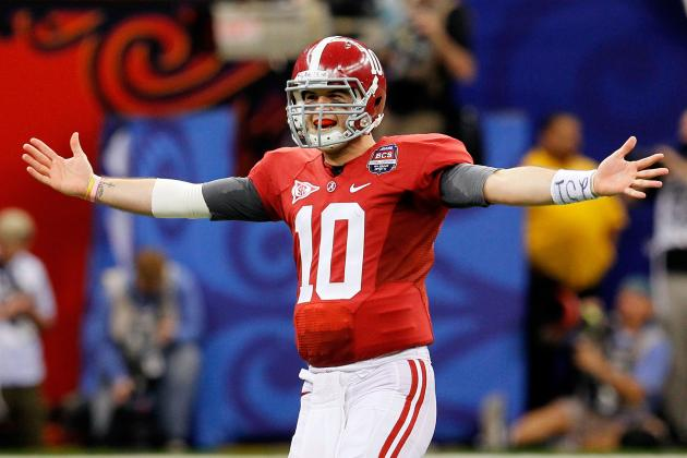 Alabama Football: Tide's Road to Another BCS Title Getting Easier Every Week