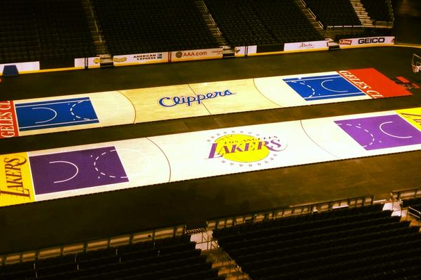 Lakers to Unveil New Staples Center Floor