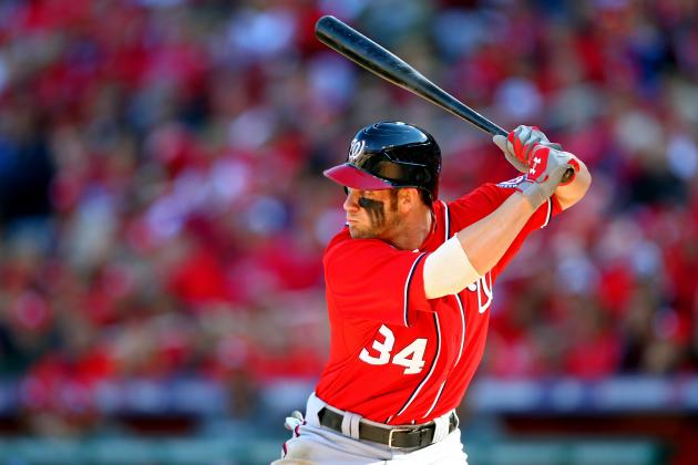 Bryce Harper Poised for a Huge Game 3 Against Cardinals' Chris Carpenter