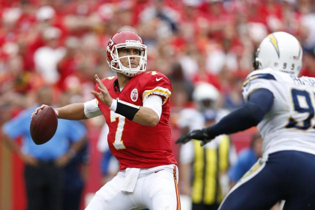 Matt Cassel Injury: Top Fantasy Replacements for Chiefs QB