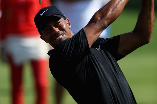 Tiger Glad to Be in 'Conversation' About No. 1