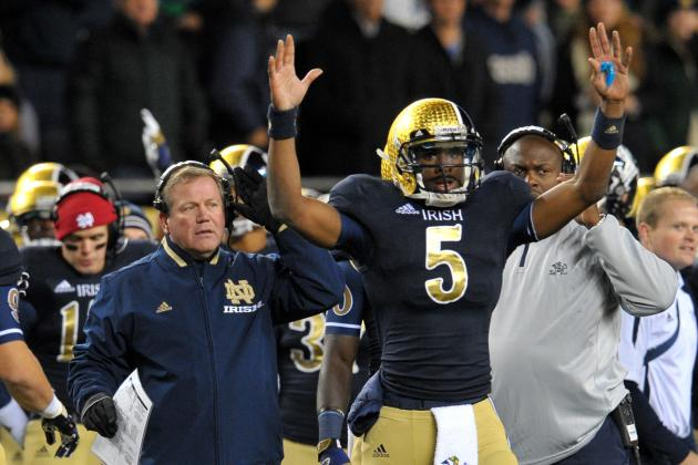 Notre Dame Football: Irish Can Go as Far as Golson Can Carry Them