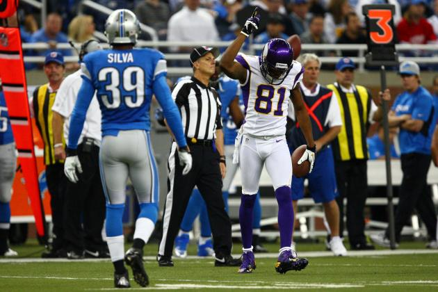 Jerome Simpson Injury Could Prove Problematic for Upstart Minnesota Vikings