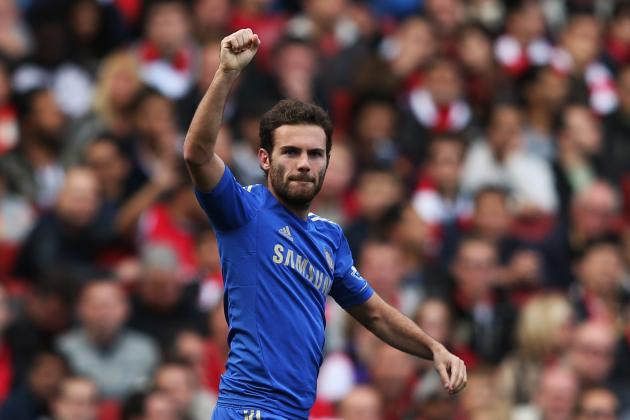 Juan Mata: Chelsea Midfielder Can Lead Blues to Premier League Glory This Season