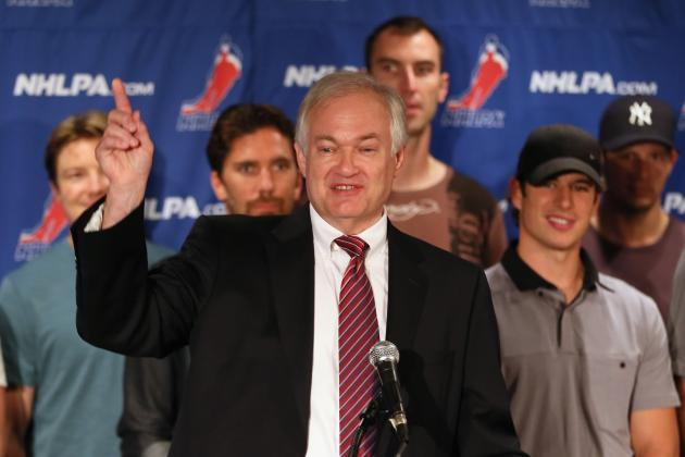 NHL Lockout: NHLPA's Proposed Salary Cap Removal Tactic Won't Help End Lockout