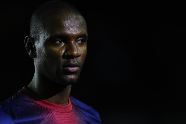 Barcelona's Eric Abidal Has Returned to Training