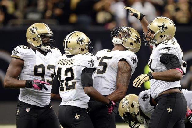 Saints Finally Produce a Pass Rush, Even When They Weren't Blitzing