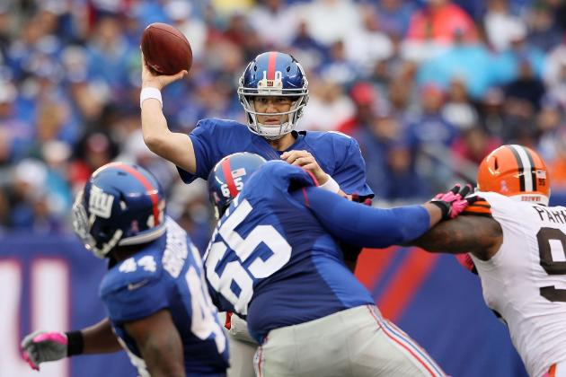 New York Giants' Offense Takes Top Spot in NFL POP Score Rankings