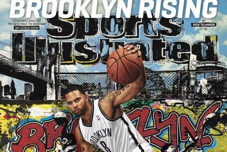 PHOTO: Deron Williams on cover of Sports Illustrated