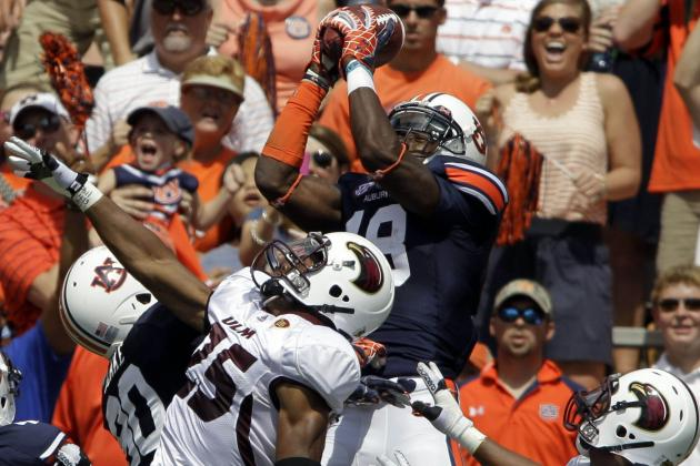 Auburn Receiver Offers Blunt Take on Team, Leaders