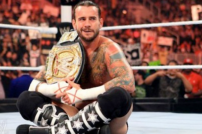 CM Punk Reacts to Hitting a Fan at WWE Raw