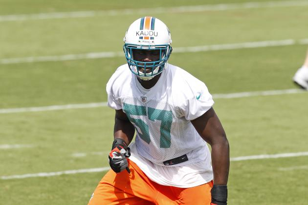 Dolphins Promote Josh Kaddu Up from Practice Squad